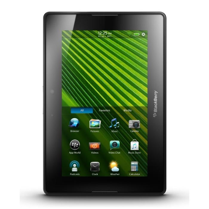 Blackberry Playbook frontale