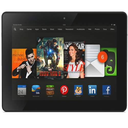 Kindle Fire HDX 8.9 fronte