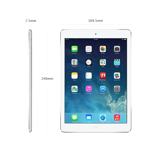ipad air dimensioni