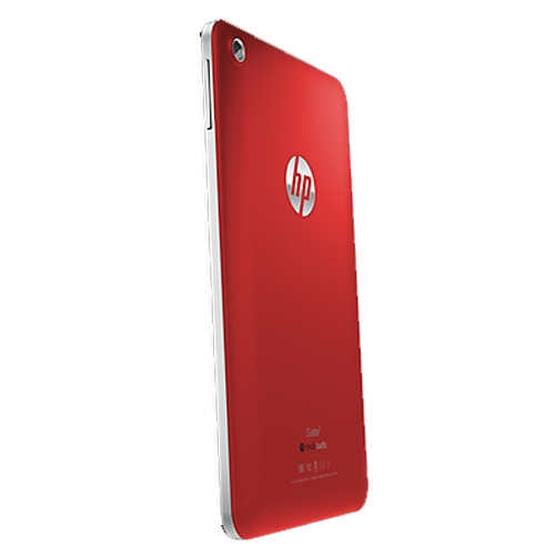 HP Slate 7 rosso
