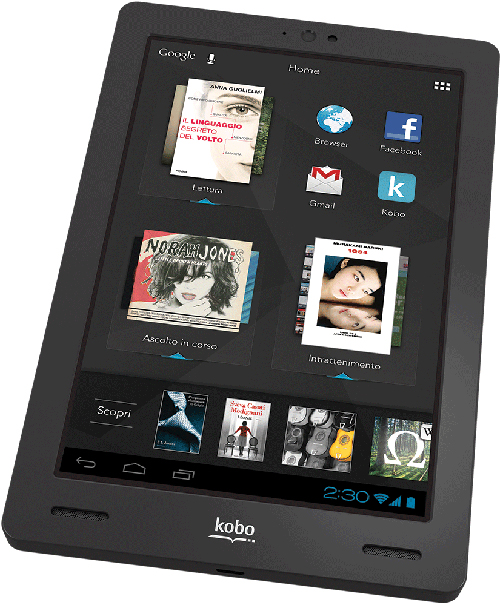 kobo arc display