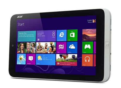 Acer-Iconia-W3-display