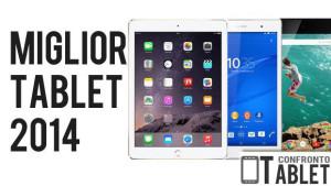 miglior tablet 2014