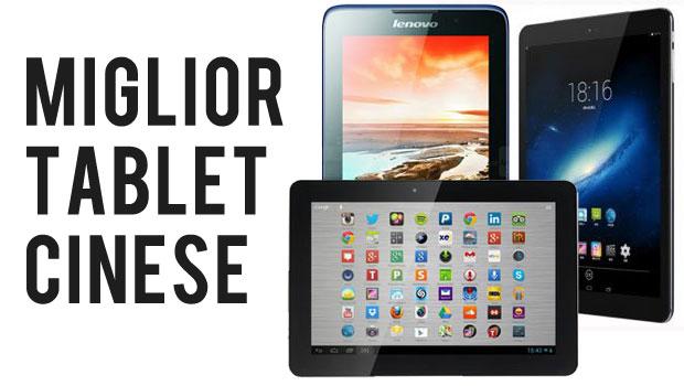 miglior tablet cinese