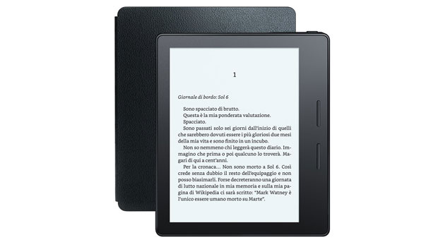 kindle oasis recensione